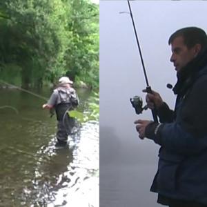 Environnement, pêche à la mouche