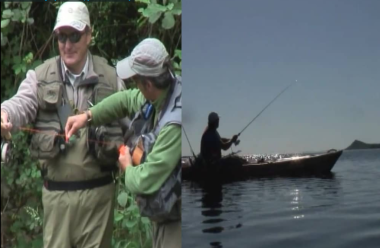 Débuter Pêche à la nymphe au fil, pêche du loup